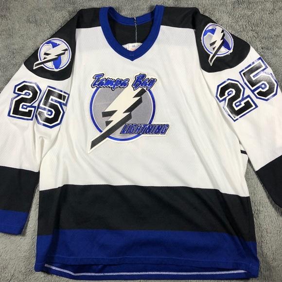 CCM Other - Tampa Bay Lightning CCM Mike  25 NHL Hockey Jersey 0a9157cb5